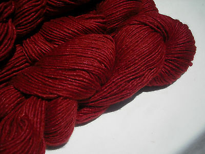 Manos del Uruguay Silk Blend Knitting Yarn, Extrafine Merino & Silk, 50g x 135m