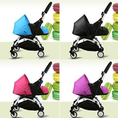 Folding Baby Stroller Sleeping Basket Infant Carriage Pushchair Pad Travel Car