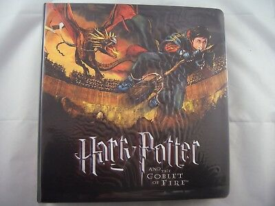 Harry Potter & The Goblet of Fire Trading Card Binder and Base set