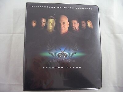Star Trek Deep Nemesis Card Binder and Base set