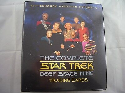 Star Trek Deep Space Nine Complete Card Binder and Base set