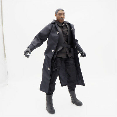 1/6 Scale Uniforms Coveralls Suit Jacket Black SWAT Set B005 Action Figure