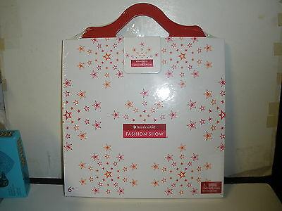NEW American Girl Authentic Fashion Show Stage & Paper Doll Runway Set