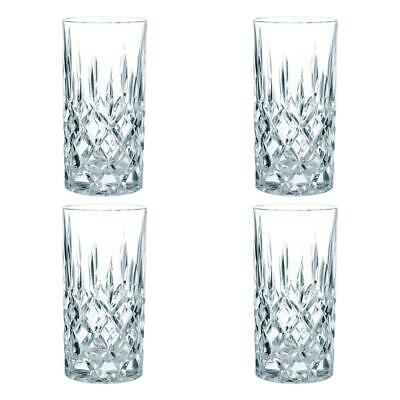Nachtmann Noblesse Highball Glass Set, 4 Part, Cup for Juices, Crystal, 375 ml