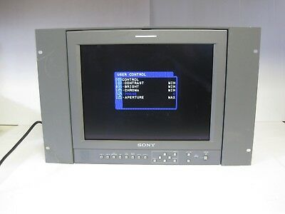 Used! Tested! Works! Sony LMD-1420 LCD Monitor