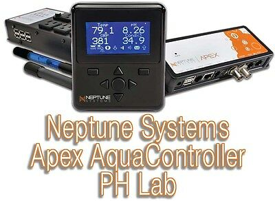 NEPTUNE Systems Apex Clásico aquacontroller PH Lab EXPOSITOR, base, sondas