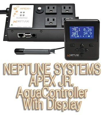 NEPTUNE Systems Apex JR aquacontroller ACUARIO (Pantalla,Base Unit ,TEMP Sonda )