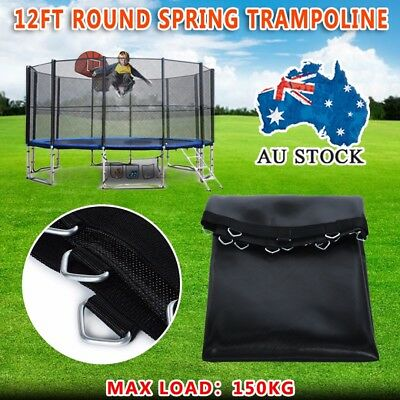 New Spring Trampoline Replacement Mat Round Outdoor 12ft Black AU