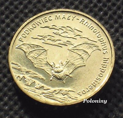 Commemorative Coin Of Poland - Animals Of The World Bat - Nietoperz (Mint)