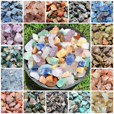 Raw Rough Natural Stones: Choose Type (Gemstone Reiki Crystal Specimen) LIST B