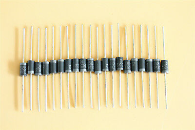 20Pcs Straight Rectifier Diode 40V 3A 1N5822