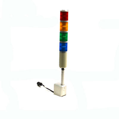 Patlite SEF-A Modular 4-Stack Red/Amber/Green/Blue Signal Tower Warning Lights