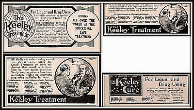 Ad Lot Of 3 1916 Ads Keeley Treatment Doctor Patient