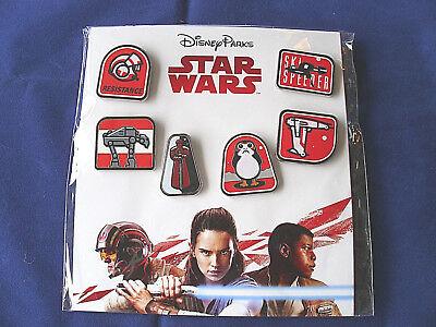 Disney * STAR WARS - THE LAST JEDI * 6 Pin Booster Set - New in Package