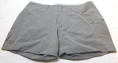 "Outdoor Research Women's Ferrosi  Pewter Summit 5"" Shorts Size 8  New NWT"