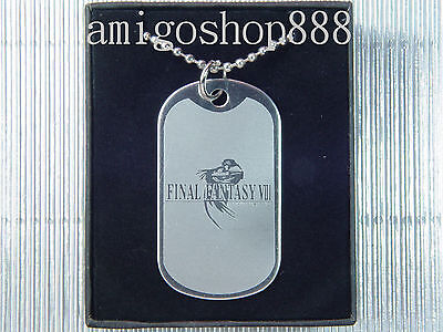 Final Fantasy VIII 8 FF8 Dog Tag Necklace
