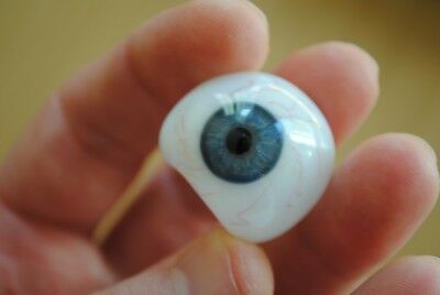 1 antique german human prosthetic glass eye