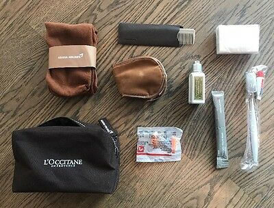 Asiana Airlines L'OCCITANE Business Class Travel Amenity Kit Kulturbeutel NEW!