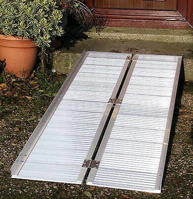 6ft/1.8m Flightcase Folding Loading Van Access Ramp New
