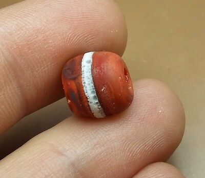 Beautiful rare Roman bead, stunning wearable ancient artifact 100-300 A. #2823
