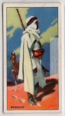 North African Sahara Bedouin Nomad Arab c80 Y/O Ad Trade Card