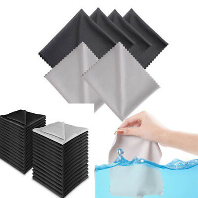 10Pack Premium Square Microfiber Cleaning Cloths for Lens Glasses TV Screen New