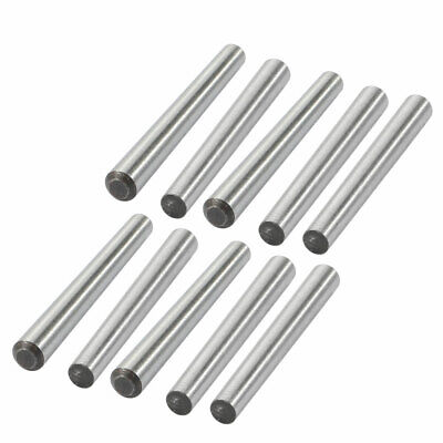 10 Pcs 3mm Small End Diameter 30mm Length GB117 Carbon Steel Taper Pin