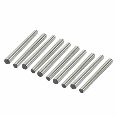 10 Pcs 4mm Small End Diameter 45mm Length GB117 Carbon Steel Taper Pin