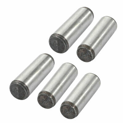 5 Pcs 8mm Small End Diameter 30mm Length GB117 Carbon Steel Taper Pin