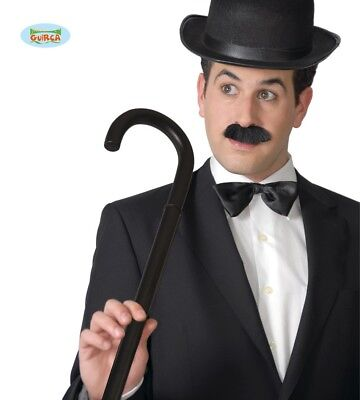 Charlie Chaplin Spazierstock Karneval Fasching Party Gehhilfe Stock, 80 cm