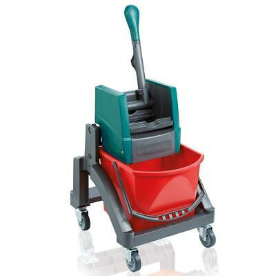 Leifheit Professional Uno Wet Wiping Cart, Cleaning Cart, Trolley, 59102
