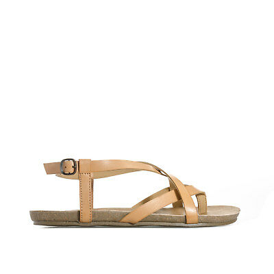 61c3a3ccdf3a BLOWFISH GOLDEN Womens Strappy Sandals Brown UK Size - £28.00 ...
