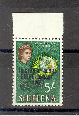 TRISTAN DA CUNHA SG 66w 5/- VALUE WITH INVERTED WATERMARK MNH