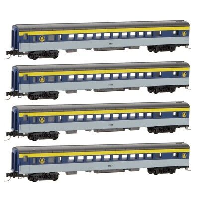 Z - MICRO-TRAINS LINE 994 00 106 BALTIMORE & OHIO passenger 4-Car Runner Pack