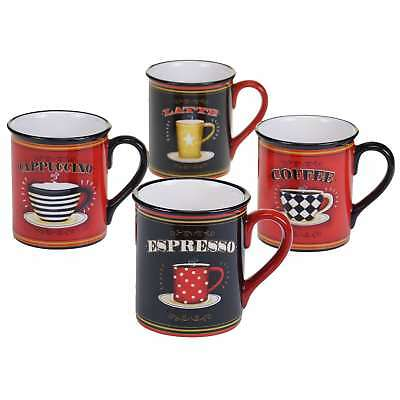 3498fabcdc1 Certified International Coffee Always 17 oz. Mugs in Assorted Designs Set  of 4