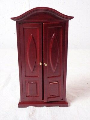 "Imex Model Co 1:12 scale ""Complements Collection"" armoire with fan top doors"