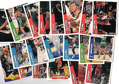 1996-97 C.choice International French Set 200 Cards Nba
