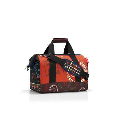 reisenthel Allrounder M Travel Duffle, Sports Bag, Duffle Special Edition Stamps