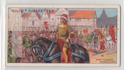 Peasants' Revolt Wat Tyler's Rebellion Great Rising England 100+ Y/O Trade Card