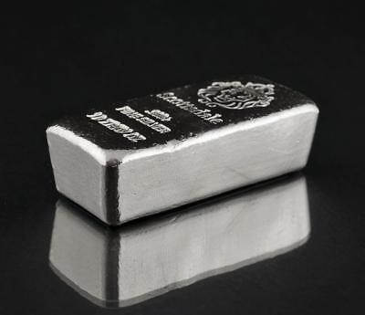 10 ~ Ounces ~ Pure .999 Silver ~ Pourded Chunky Loaf ~ Silver  Bullion ~ $218.88