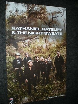 POSTER by NATHANIEL RATELIFF & the night sweats tearing at seams for album cd *