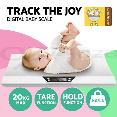 2-in-1 Electronic Digital Infant Baby Adult Toddler Scales Body Weight Tracker