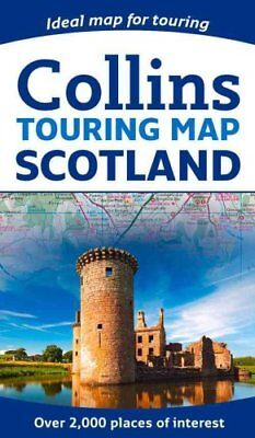 Scotland Touring Map by Collins Maps 9780008158521 (Sheet map, folded, 2016)