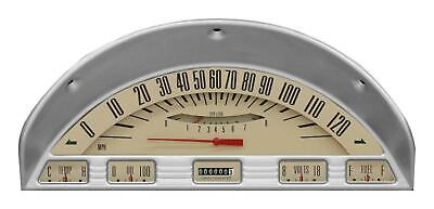 1956 Ford F-100 Direct Fit Classic instrument Gauges Tan FT56TT