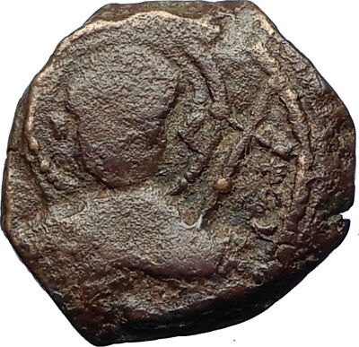 CRUSADERS of Antioch Tancred Ancient 1101AD Byzantine Time Coin St Peter i69512