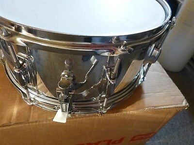 Ludwig Snaredrum Chrome over Wood 6,5X14