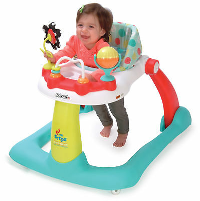 Kolcraft Tiny Steps 2-in-1 Activity Walker with Fun Toys & Activities, Jubilee