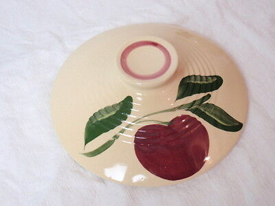 Watt Pottery Apple Pattern Ribbed Cover Lid Only for #601 Bowl Vintage 1950s