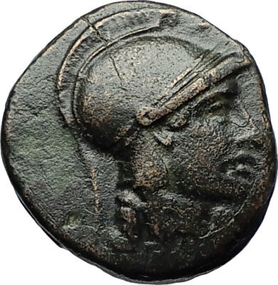 SELEUKOS II Kallinikos 246BC Seleukid Ancient Greek Coin ATHENA APOLLO i69531