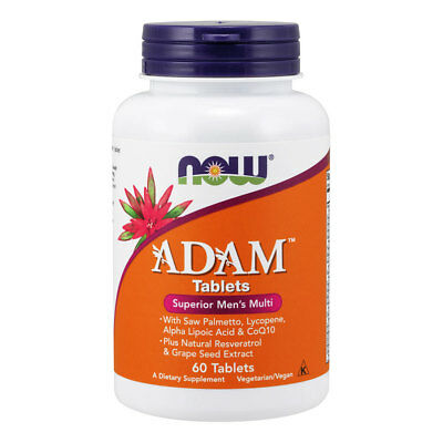 NOW FOODS ADAM Multi-Vitamin for Men 60 tablets - multivitaminico per Lui